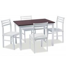 Söögilaud ja tool komplekt 1+4